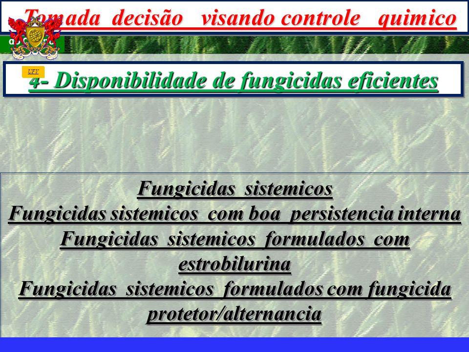 mzuppi.cursos@gmail.com Educação e Treinamento do Homem do Campo Fungicidas sistemicos Fungicidas sistemicos com boa persistencia interna Fungicidas s
