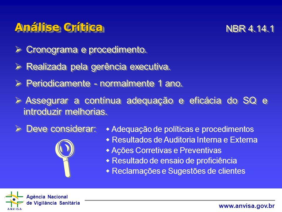 Agência Nacional de Vigilância Sanitária www.anvisa.gov.br Adequação de políticas e procedimentos Resultados de Auditoria Interna e Externa Ações Corr