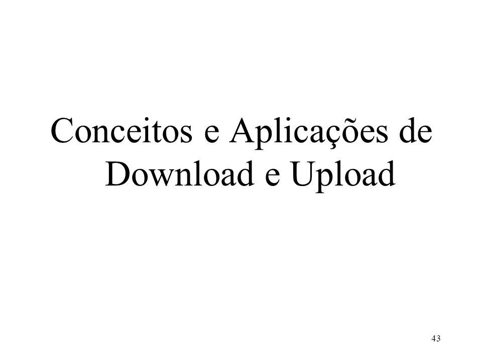 Conceitos e Aplicações de Download e Upload 43