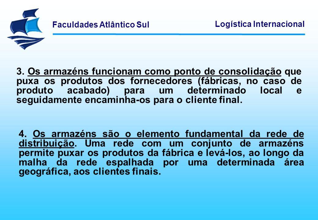 Faculdades Atlântico Sul Logística Internacional 5.