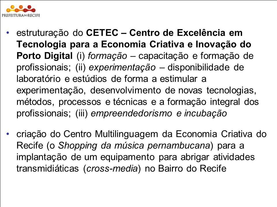 Estudo Prospectivo Inovações Tecnológicas e Cadeias Produtivas Selecionadas estruturação do CETEC – Centro de Excelência em Tecnologia para a Economia