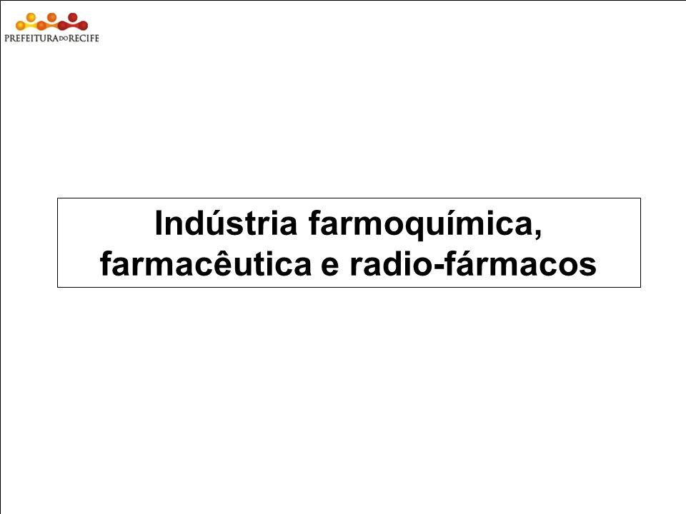 Estudo Prospectivo Inovações Tecnológicas e Cadeias Produtivas Selecionadas Indústria farmoquímica, farmacêutica e radio-fármacos