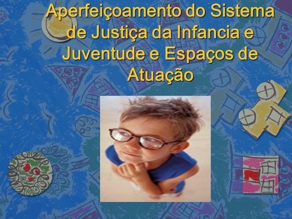 Aperfeiçoamento do Sistema de Justiça da Infancia e Juventude e Espaços de Atuação