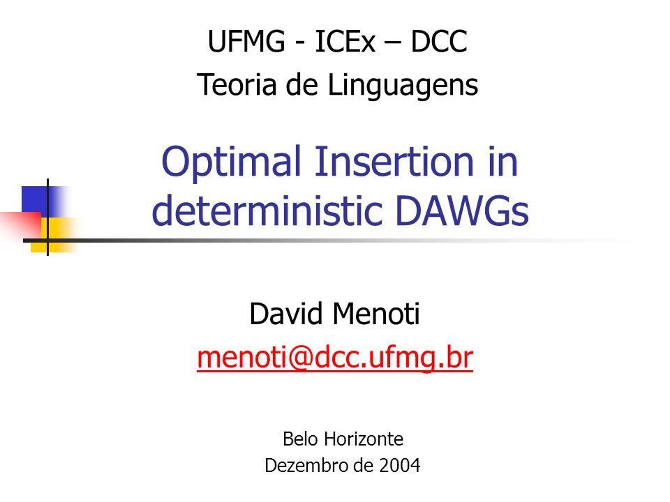 Sumário Introdução Problema Motivação Trabalhos Correlatos Definições Algoritmo Experimentos Conclusões