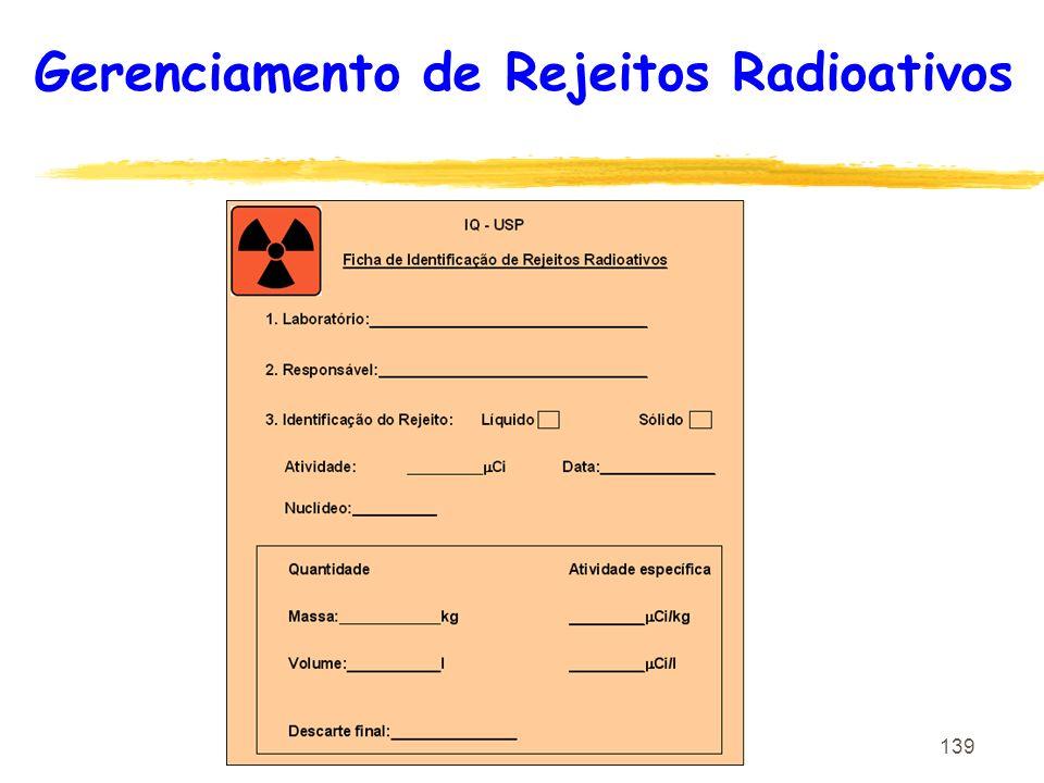 139 Gerenciamento de Rejeitos Radioativos