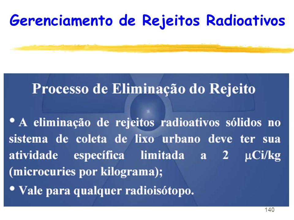 140 Gerenciamento de Rejeitos Radioativos