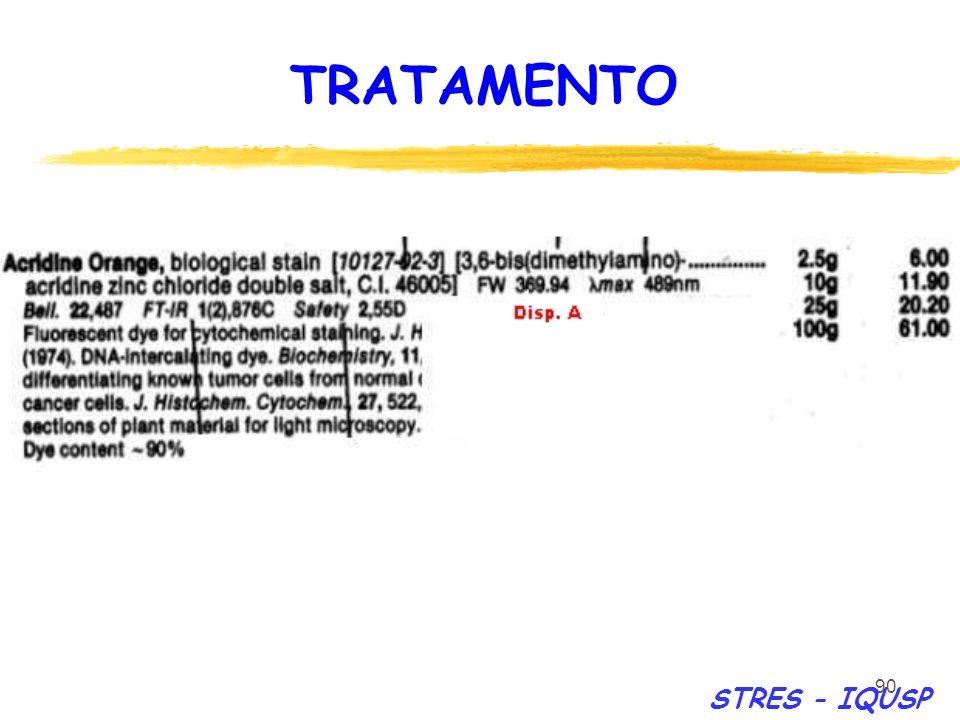 90 STRES - IQUSP TRATAMENTO