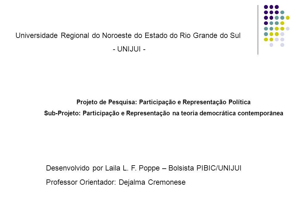 Fundamentos da política e da sociedade brasileira: Carvalho, J.M.