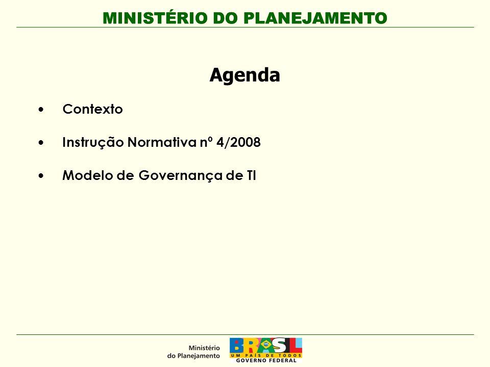 MINISTÉRIO DO PLANEJAMENTO Rogério Santanna dos Santos Secretário de Logística e Tecnologia da Informação Ministério do Planejamento, Orçamento e Gestão www.planejamento.gov.br Fone: (61) 3313-1400
