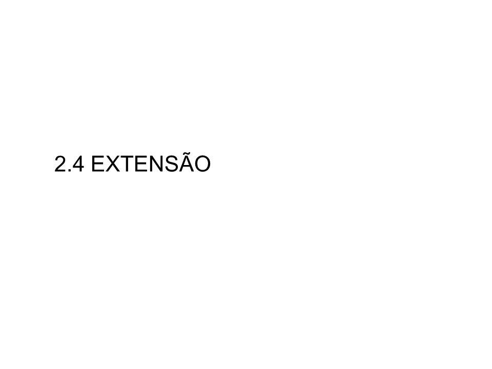 2.4 EXTENSÃO