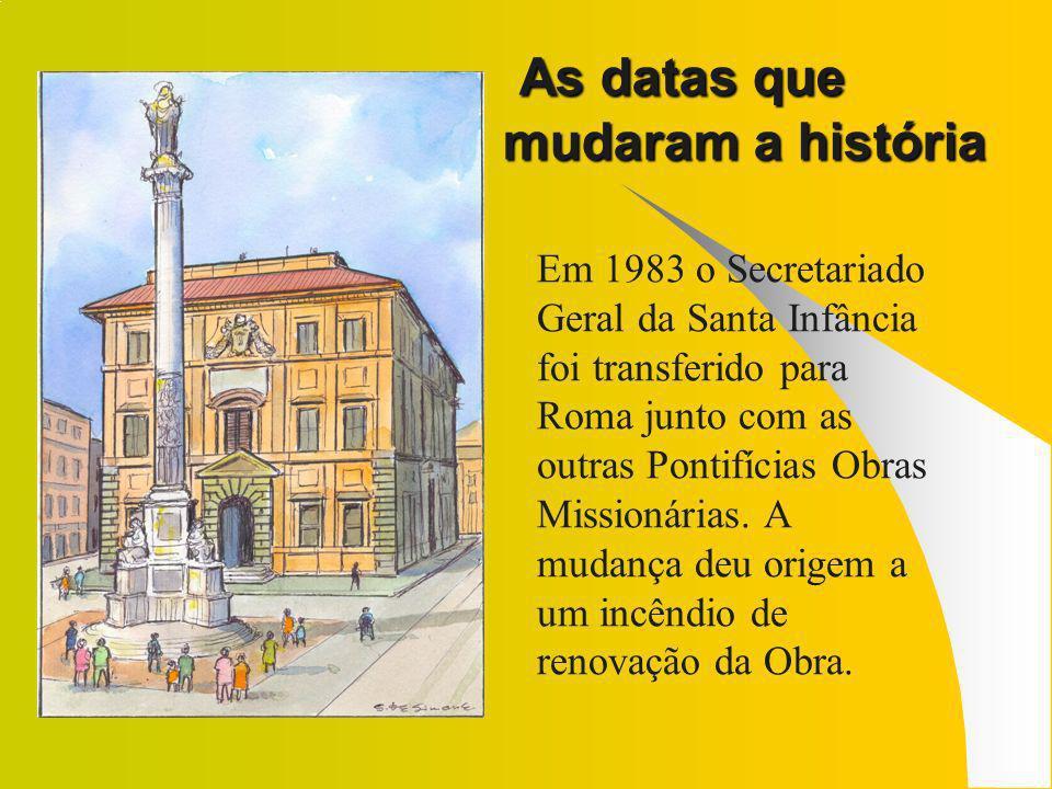Em 1993 se celebraram em Roma e em todo o mundo os 150 anos de fundação da Obra.