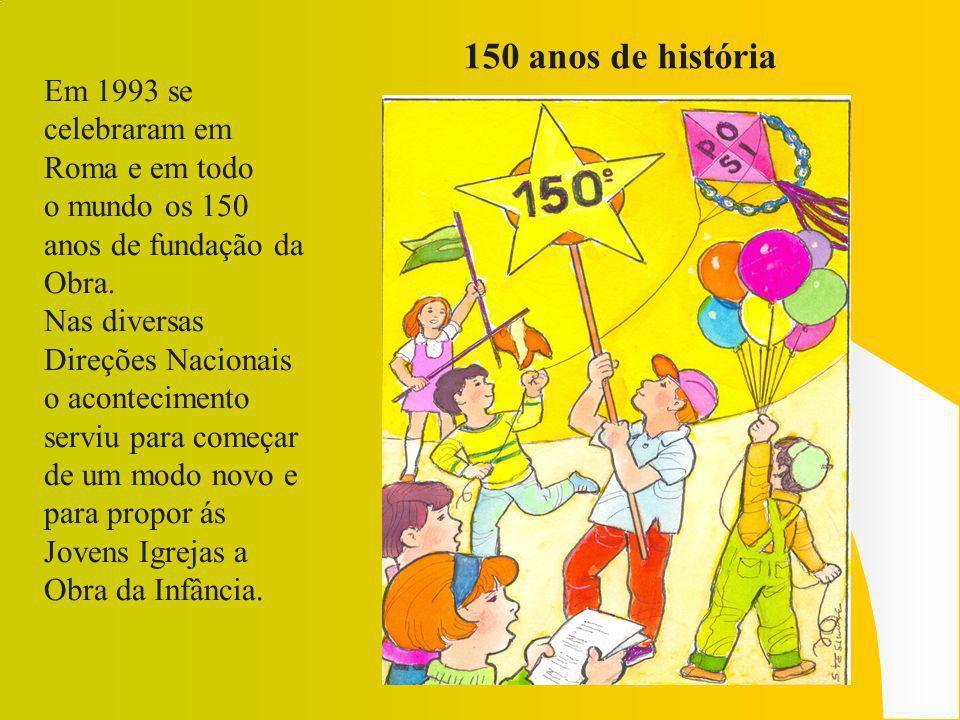 As escolas para animadores Nos anos 90 na América Latina, começaram as Escolas para Animadores Missionários (ESAM) [nossos EFAIMs] que dão á Infância Missionária um crescimento feliz e surpreendente.