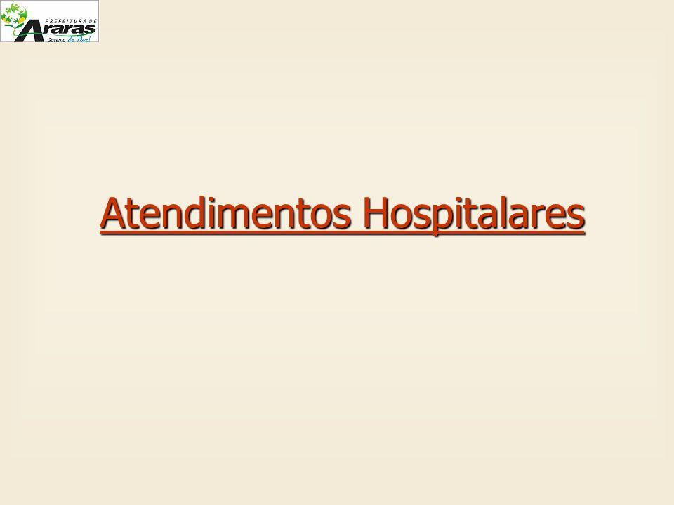 Atendimentos Hospitalares