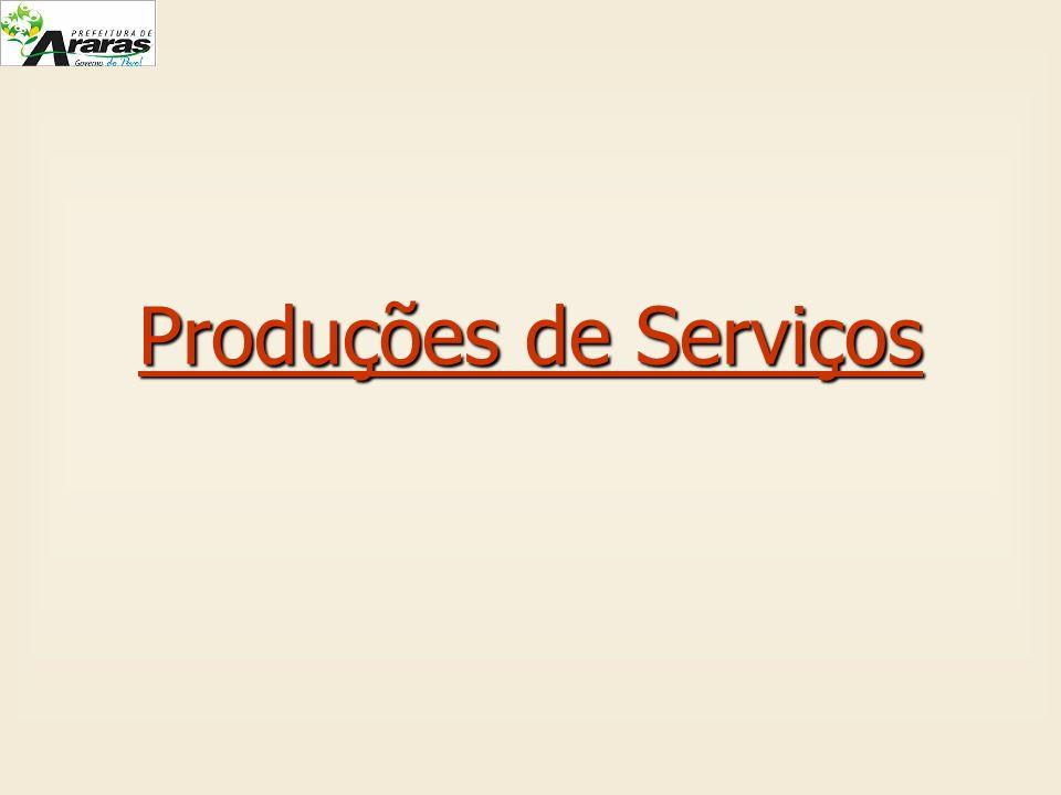 Produções de Serviços
