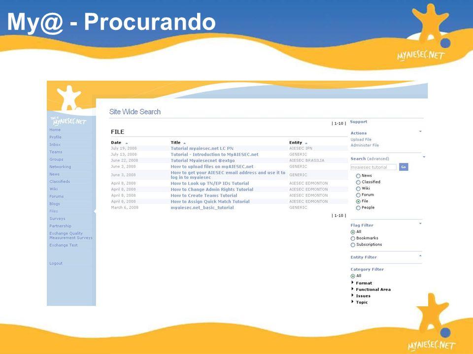 My@ - Procurando