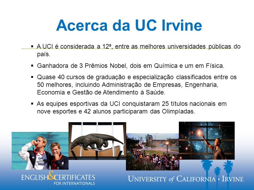 A UCI é considerada a 12ª, entre as melhores universidades públicas do país.