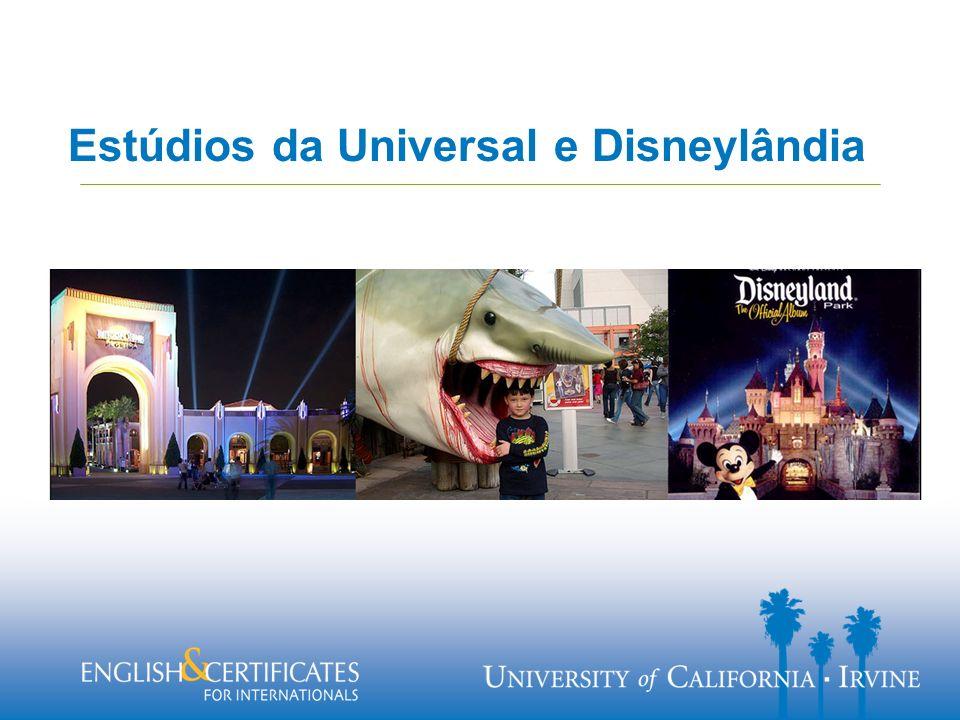 Estúdios da Universal e Disneylândia