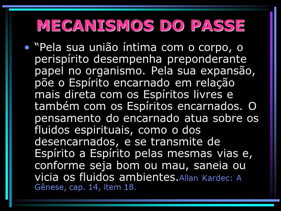 E´considerado necessário durante a manifestação de entidades espirituais portadoras de necessidades especiais, como, por exemplo, os obsessores, suici