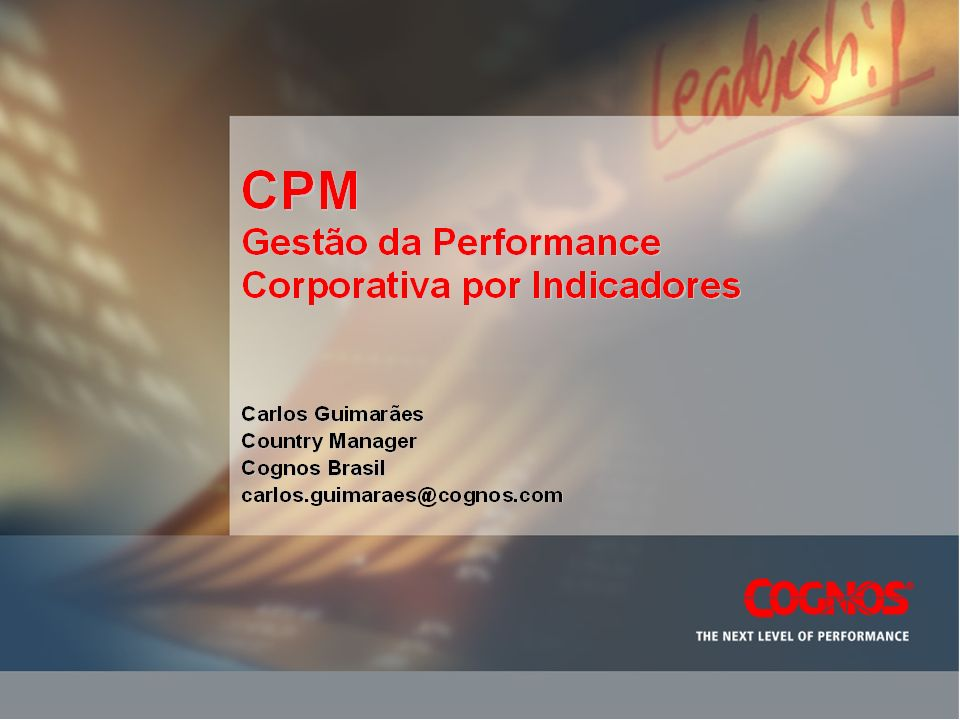 CPM PLATFORM Growth
