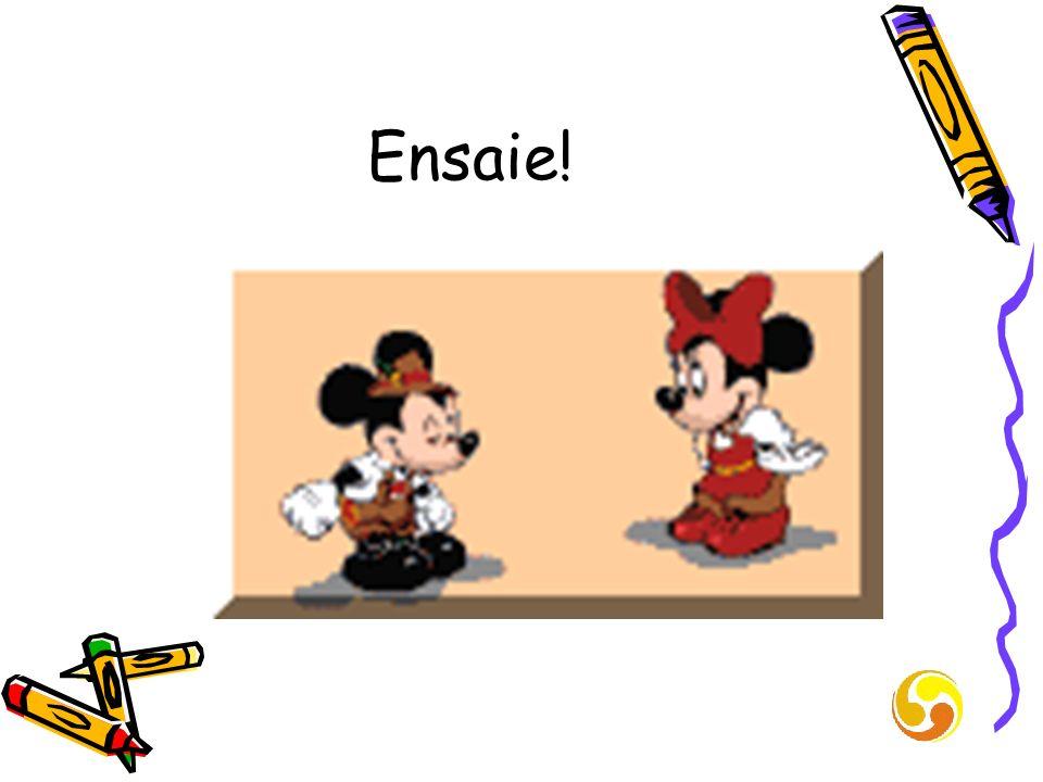 Ensaie!