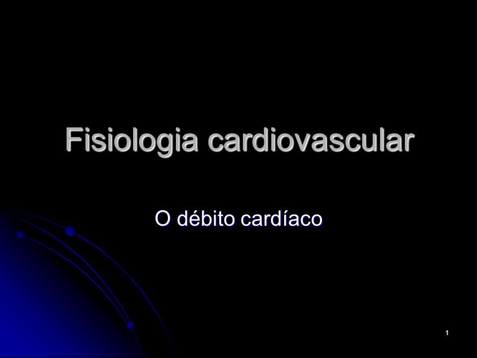 1 Fisiologia cardiovascular O débito cardíaco