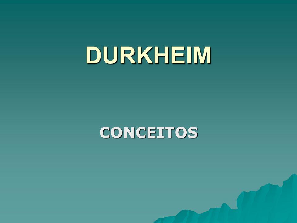 ORDEM SOCIAL: fundamentos D urkheim concentrou sua atenção sobre os problemas morais.