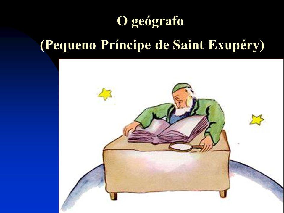 O geógrafo (Pequeno Príncipe de Saint Exupéry)
