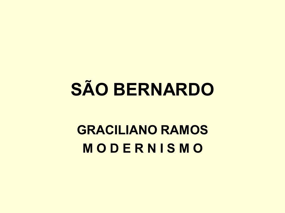 SÃO BERNARDO GRACILIANO RAMOS M O D E R N I S M O
