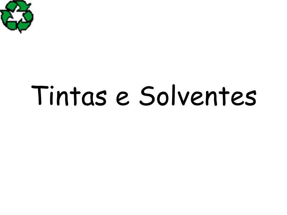Tintas e Solventes