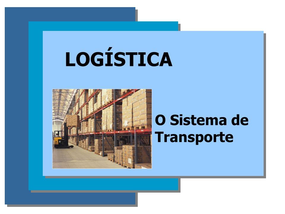 Logística O SISTEMA DE TRANSPORTE O TRANSPORTE 1.Representa o elemento mais importante do custo logístico; 2.Tem papel fundamental na prestação do Serviço ao Cliente
