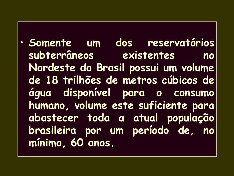 É comum em regiões com grutas calcáreas, ocorrendo em várias partes do Brasil.--- VOCÊ SABIA QUE...? 97% de toda água doce disponível existente no pla