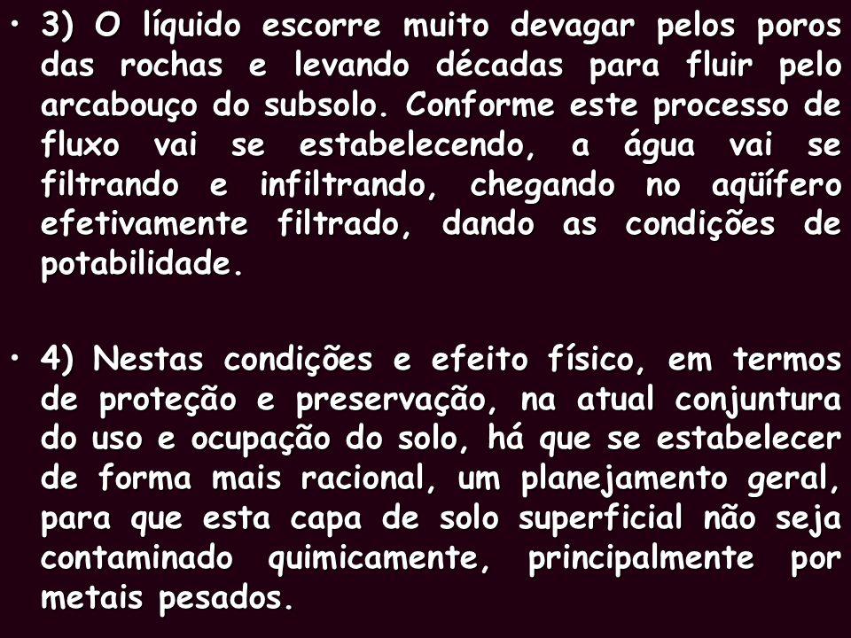 AQÜÍFERO BAURU 1) Além do aquífero Guarani, sob a superfície do Estado de São Paulo, há um outro reservatório, chamado AQÜÍFERO BAURU, que se formou m