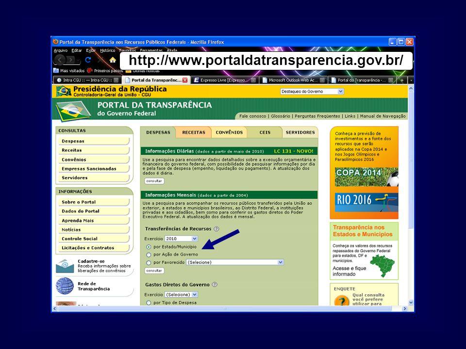 http://www.portaldatransparencia.gov.br/