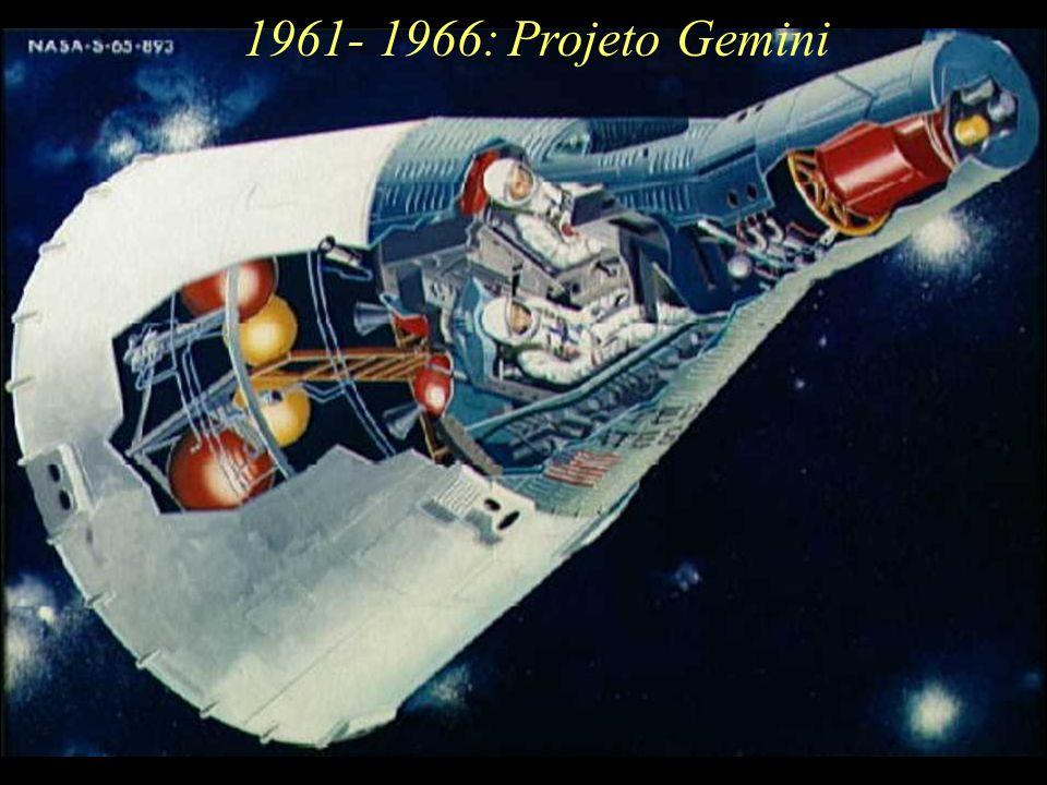 1961- 1966:Projeto Gemini