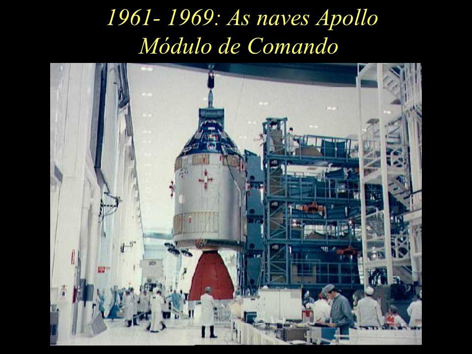 1961- 1969: As naves Apollo Módulo de Comando