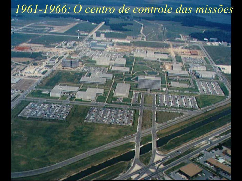 1961-1966:O centro de controle das missões