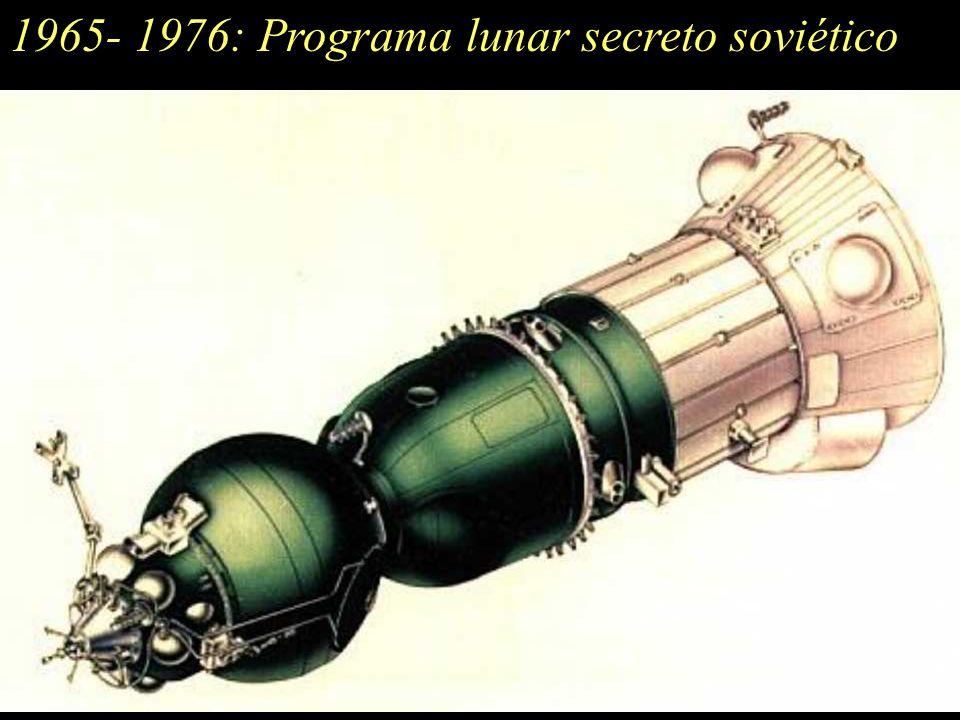 1965- 1976:Programa lunar secreto soviético