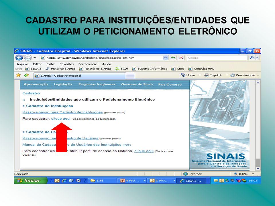 INFORMAR CNPJ + CNAE (CLASSIFICAÇÃO NACIONAL DE ATIVIDADES ECONÔMICA) - http://www.receita.fazenda.gov.br/PessoaJuridica/CNPJ/cnpjrev a/Cnpjreva_Solicitacao.asp E CLIQUE EM CADASTRAR NOVA EMPRESA.