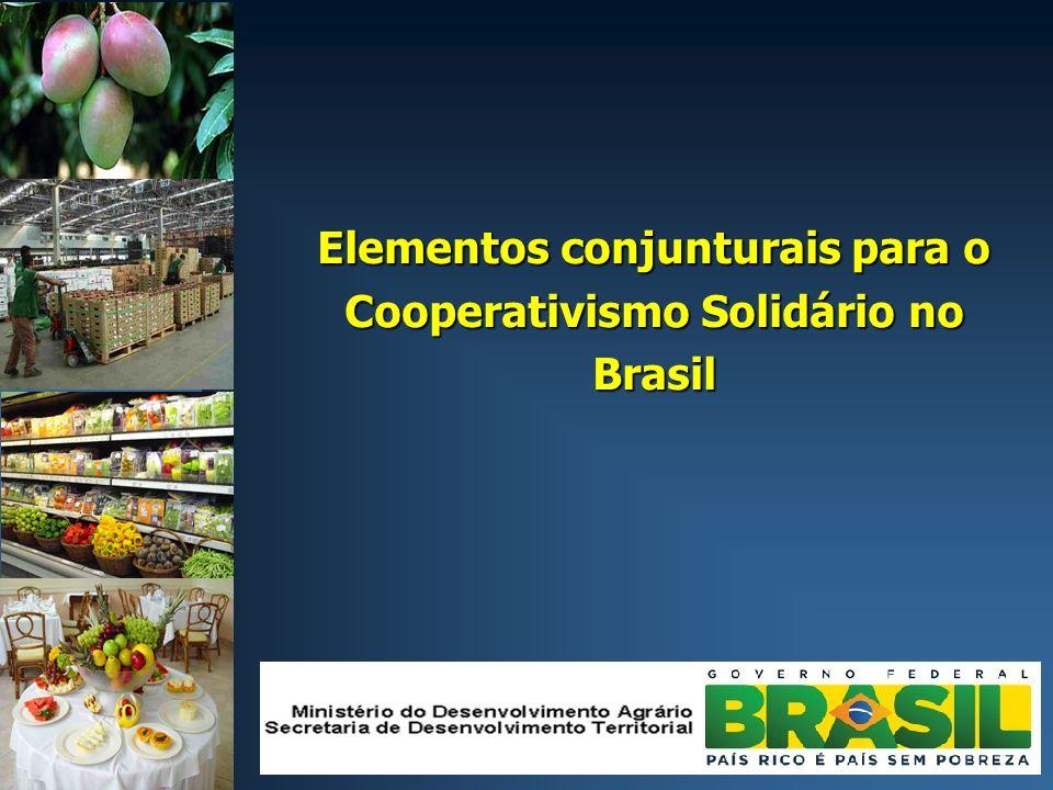 Elementos conjunturais para o Cooperativismo Solidário no Brasil