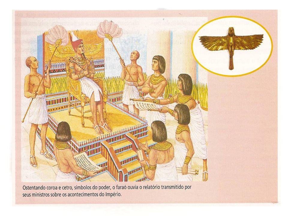 O VIZIR = A maior autoridade depois do faraó.