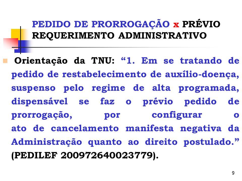30 PERÍCIAS MÉDICAS JUDICIAIS Presença de Advogados Encontro JEFs Prev.