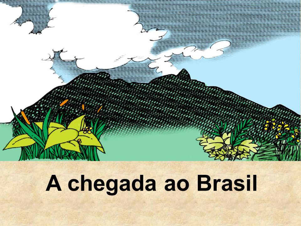 A chegada ao Brasil