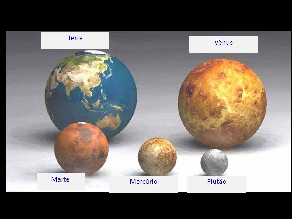 Terra Vênus Marte MercúrioPlutão