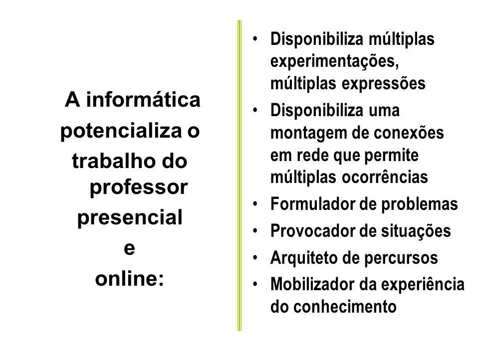 Permutabilidade-potencialidade O emissor disponibiliza a possibilidade de múltiplas redes articulatórias. Ele não propõe uma mensagem fechada, ao cont