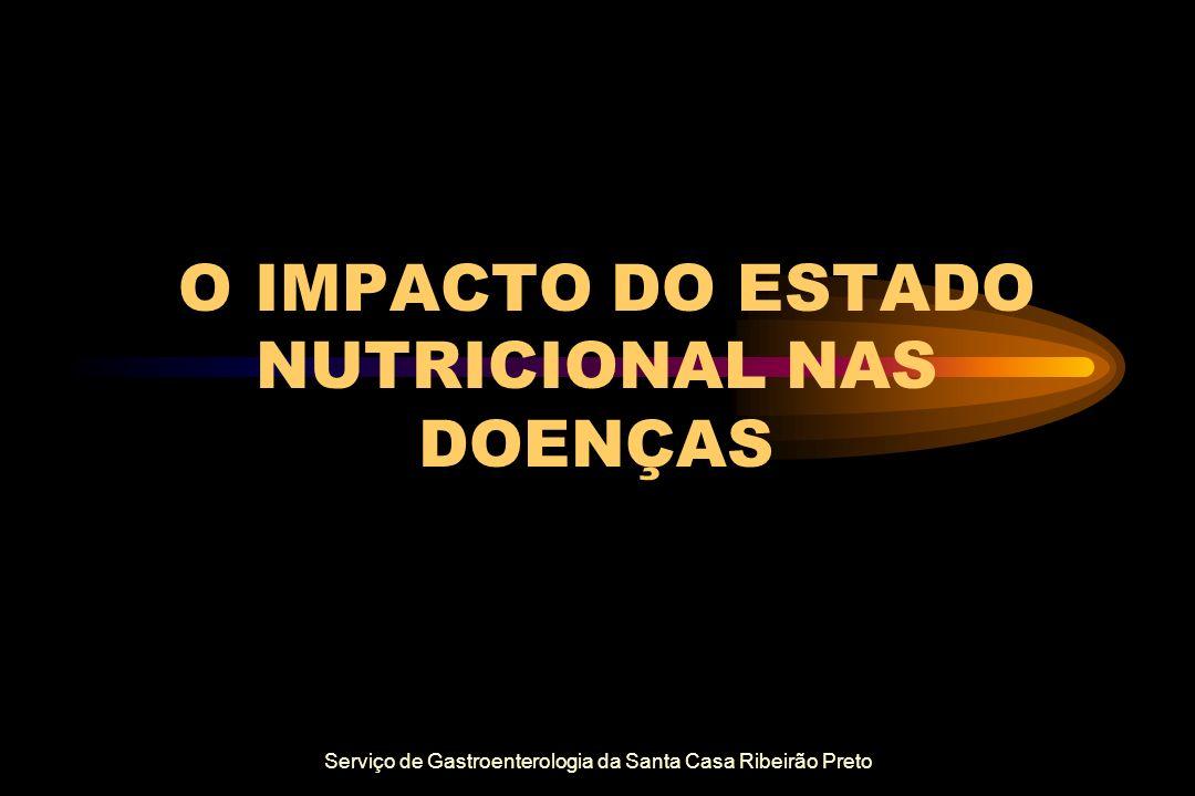 O IMPACTO DO ESTADO NUTRICIONAL NAS DOENÇAS