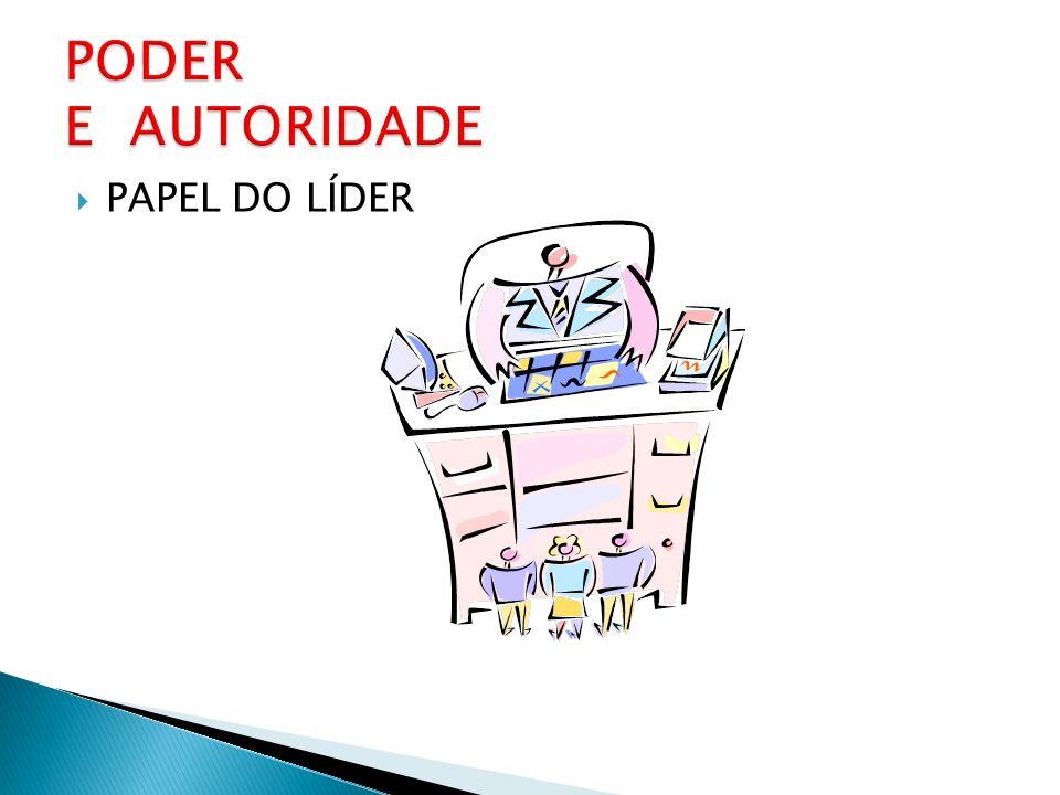 PAPEL DO LÍDER