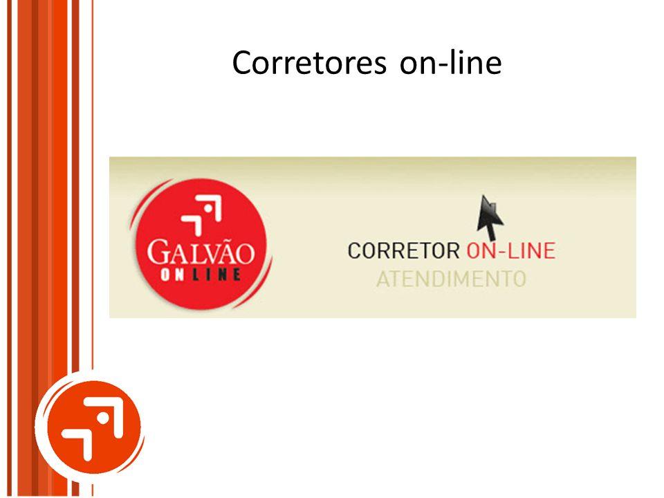 Corretores on-line