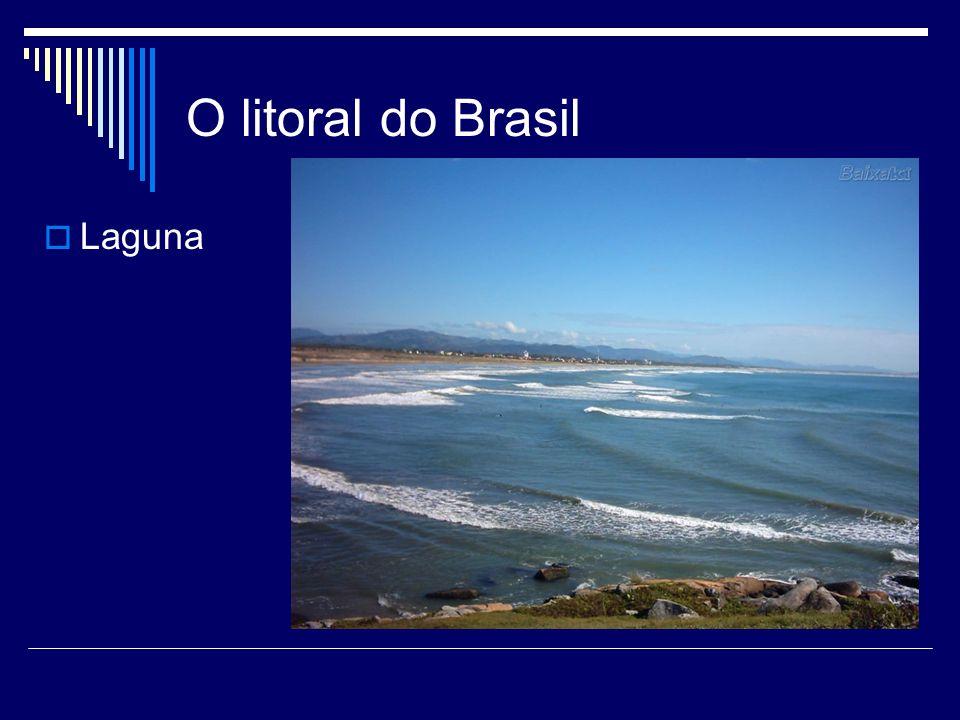 O litoral do Brasil Laguna