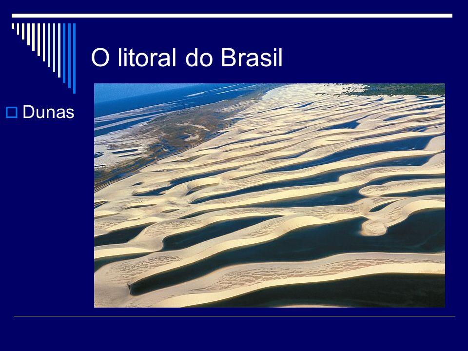 O litoral do Brasil Dunas