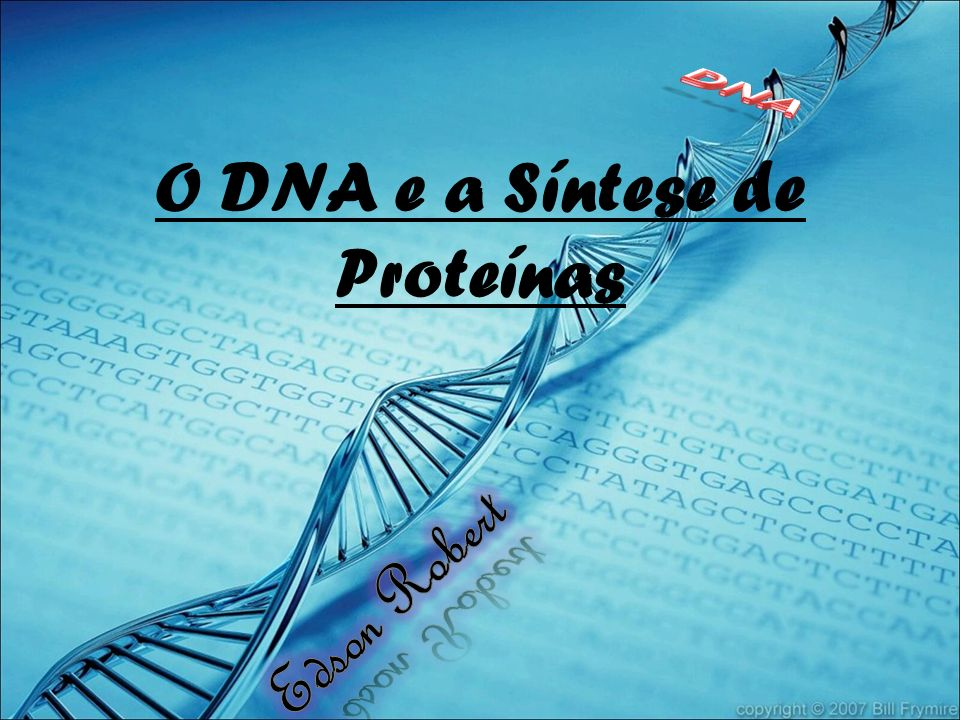 O DNA e a Síntese de Proteínas